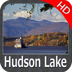 Lake Hudson Indiana HD - GPS charts Navigator