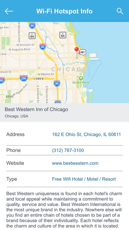 Chicago Wifi Spots screenshot-2