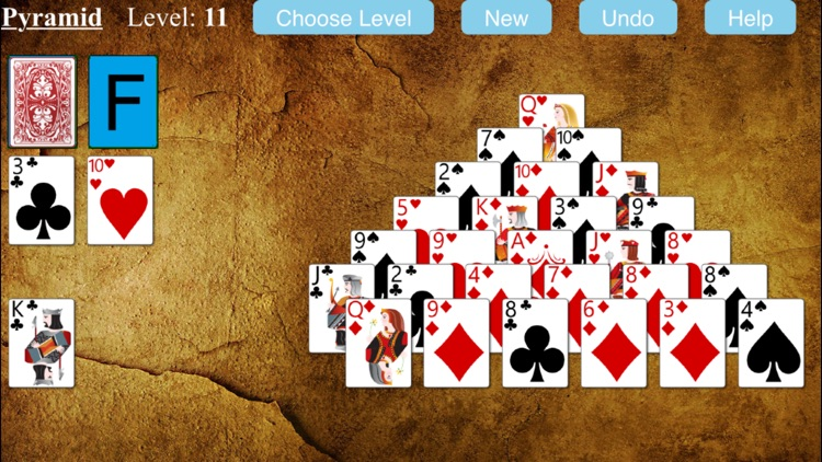 Pyramid Solitaire Game screenshot-3