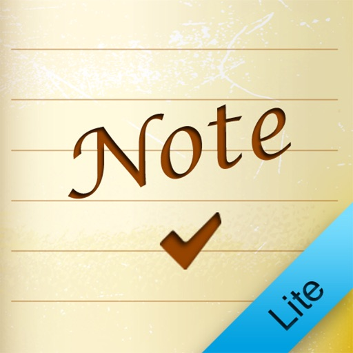 Notebook Lite for iPhone