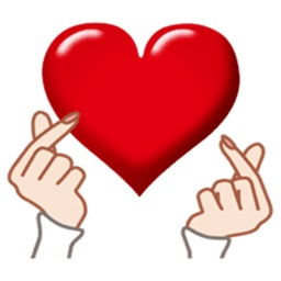 Heart Stickers for iMessage