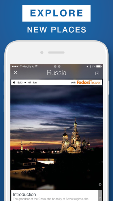 Russia - Travel Guide & Offline Map