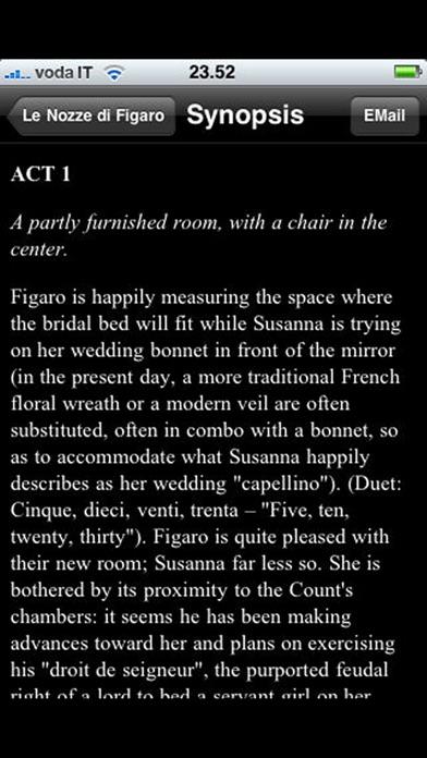 Opera: The Marriage of Figaro (Le Nozze di Figaro)
