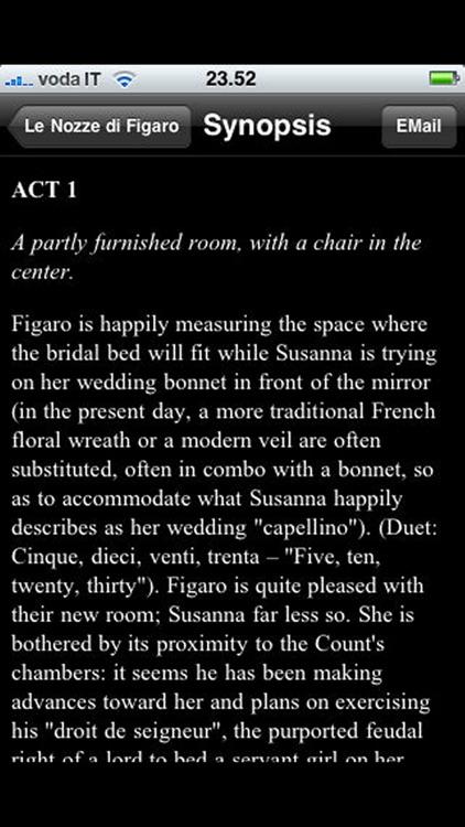 Opera: The Marriage of Figaro (Le Nozze di Figaro) screenshot-3