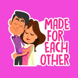 Cute Couple Stickers