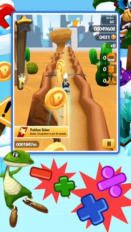 Math Run: Panda Chase screenshot-3