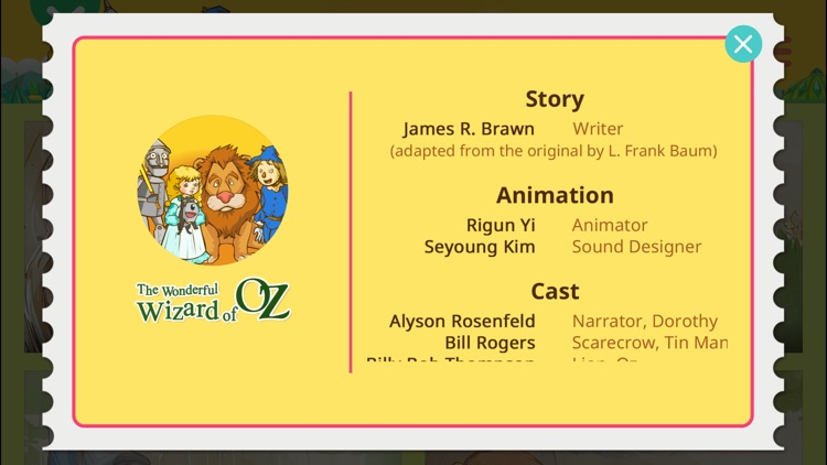 The Wizard of Oz - Little Fox Storybook screenshot-3