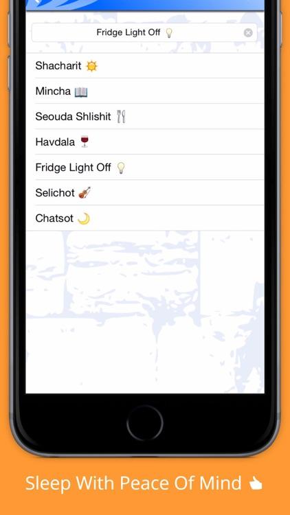 Shabbat Alert - alarm clock 4 jewish calendar date screenshot-4