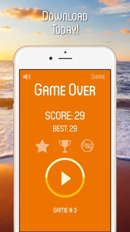 Fantastic Orange Flip - Rush Game screenshot-4