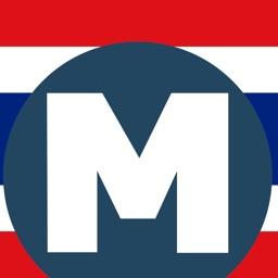 Thai Subway (MRT) - ข้อมูลเส้นทางเดินรถไฟใต้ดินไทย