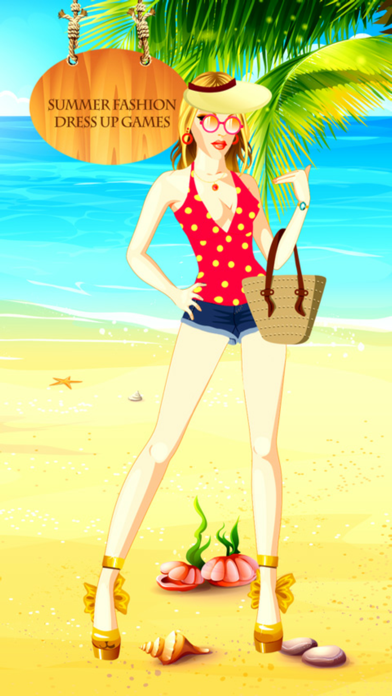 Summer Fashion Dress Up Games screenshot one