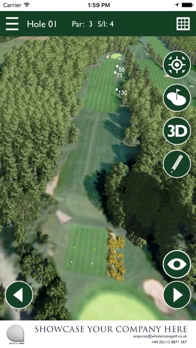 Rotherham Golf Club GPS screenshot three