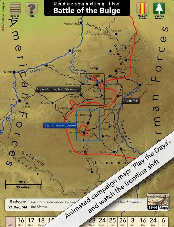 Battlefield mApps: Battle of the Bulge