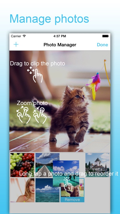 SlideShow Maker - Picture Video & Movie With Music screenshot-3