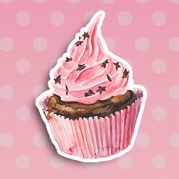 Cupcake & Cake: Cute Stickers for iMessage