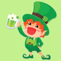 Cute St Patricks Day Sticker Pack