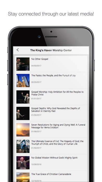 the king's haven app image