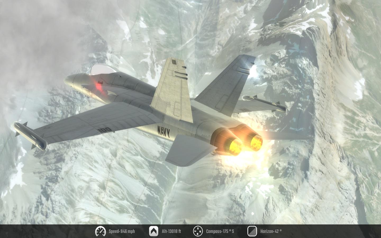 Screenshot do app Flight Unlimited 2K17