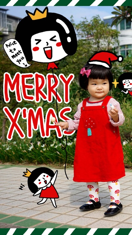XaoYaoPrincess' Christmas - NHH Animated Stickers