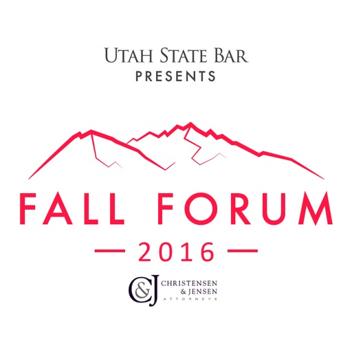 2016 Utah Bar Fall Forum