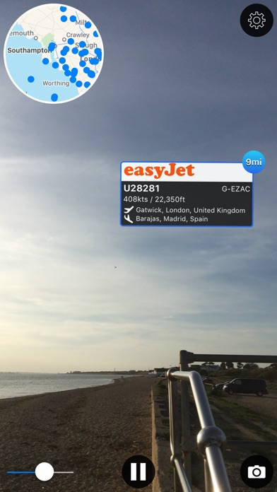Plane Finder Ar review screenshots