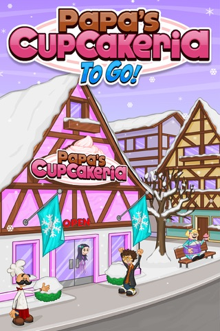 Papa's Cupcakeria To Go! screenshot 1