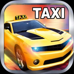 Taxi simulator – City cab driver in traffic rush