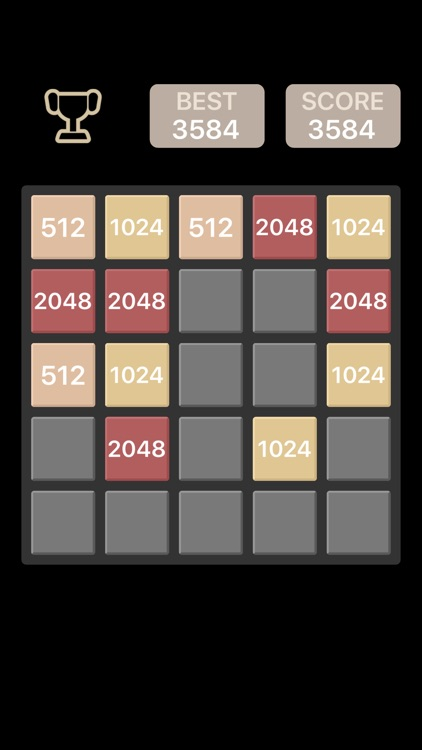 Black Board 2048 - The funniest Reverse Version screenshot-3