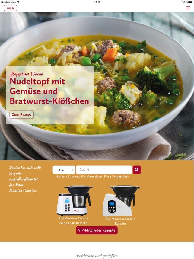 Monsieur Cuisine im App Store