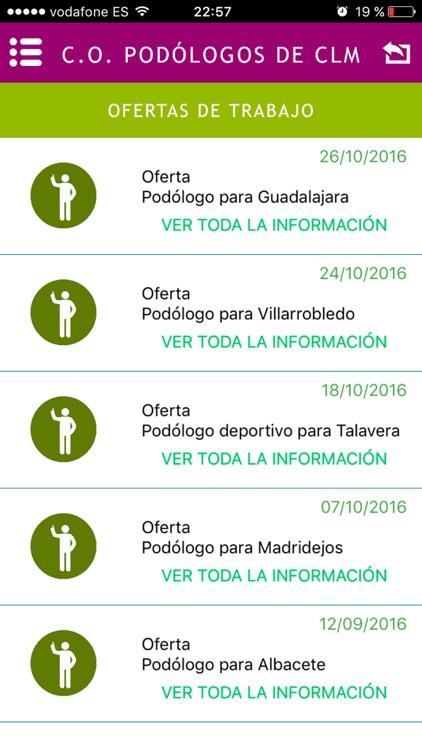 C.O. Podólogos Castilla La - Mancha screenshot-3