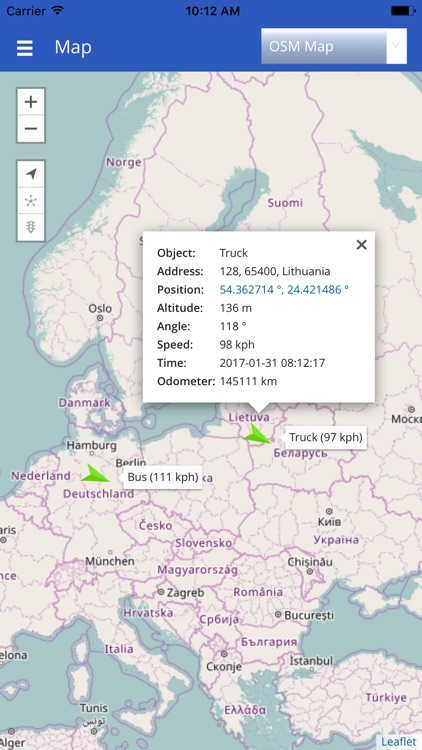 GPS Server Mobile - Tracking On Mobile Device by Edvin Zacharevic