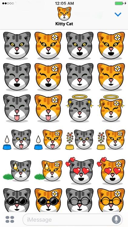 Kitty Cat Stickers - Feline Emoji Meme