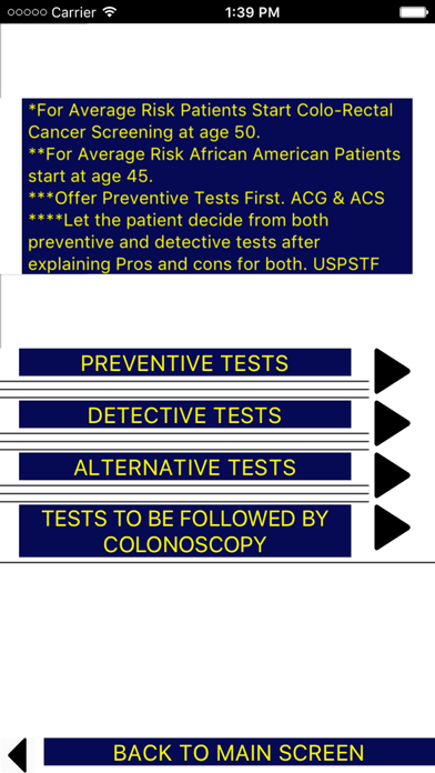 Colo-Rectal Cancer Screening screenshot 3