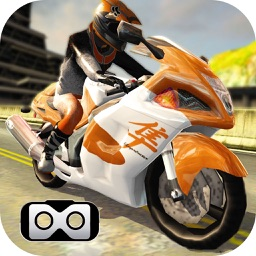 VR Moto Attack Racer : Free Virtual Reality Game