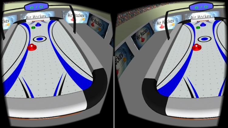 VR Air Hockey Deluxe 2017 screenshot-3