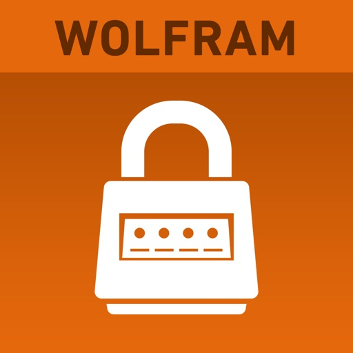 Wolfram Password Generator Reference App icon