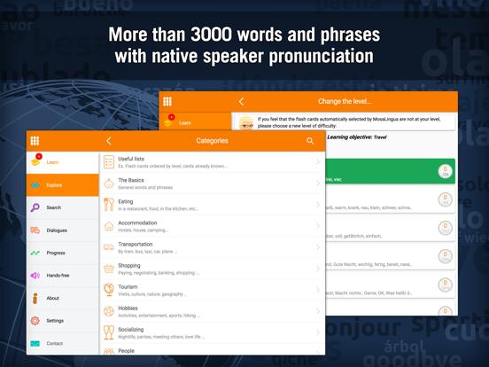 Learn German - MosaLingua Screenshots