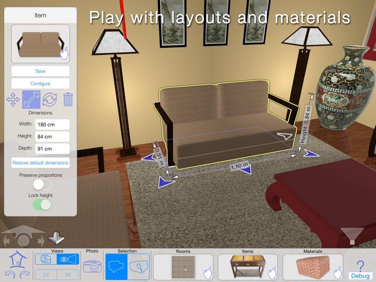 Casa Designer 3D - freemium - Home Makeover screenshot-4