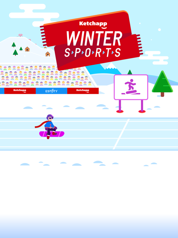 Ketchapp Winter Sports screenshot 6
