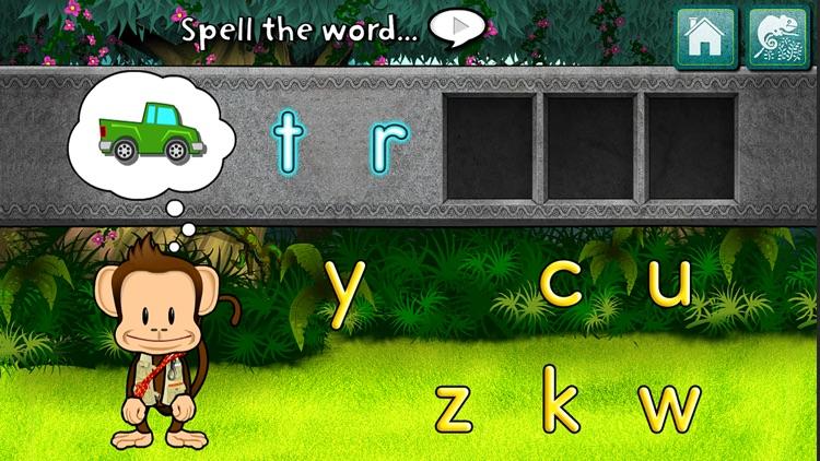 Monkey Word School Adventure screenshot-0