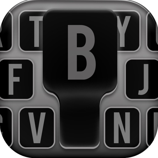 Black keyboard Themes – Cool Fonts Changer