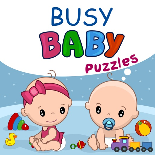 Busy Baby Puzzles - Learning game for kids