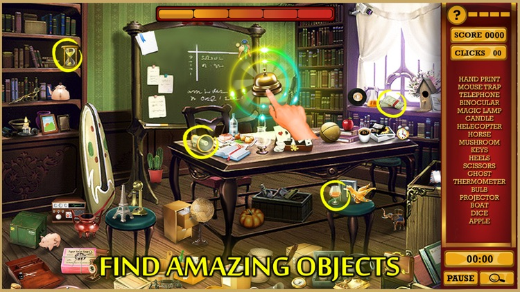 Hidden Objects Adventure Rooms : Escape Manor