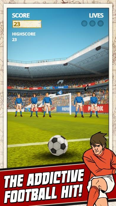 Flick Kick Football review screenshots