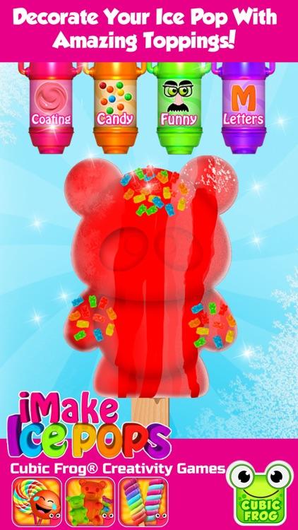 Ice Cream Maker Kitchen Games-iMake IcePops screenshot-3