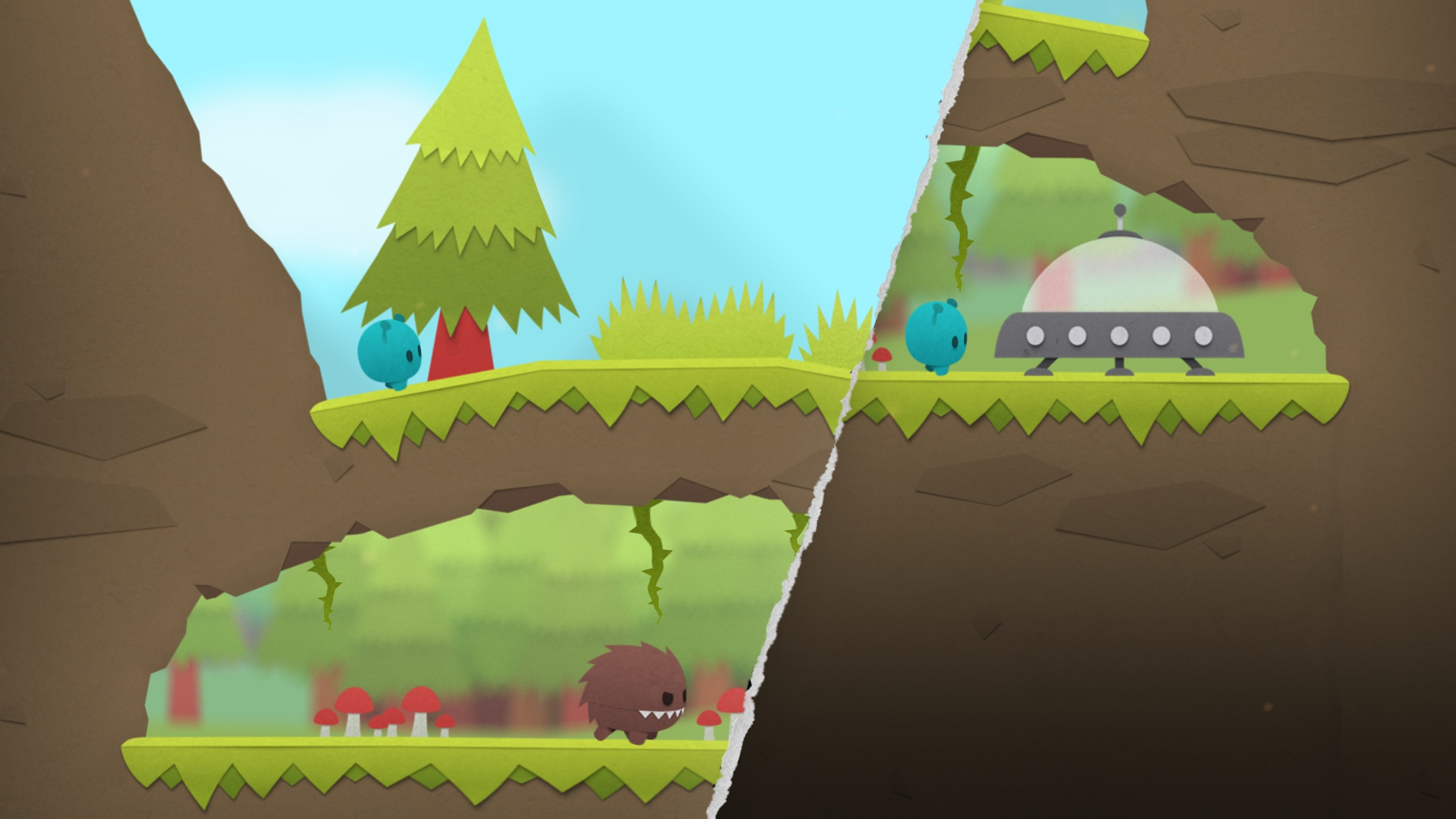 Screenshot do app Splitter Critters