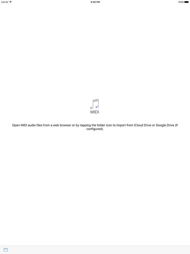Play Midi Files On Ipad