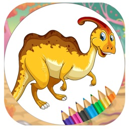 Game For Kids Dinosaur Coloring Book