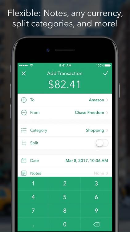 DashFlow Money Tracker - Budget & Finance Manager screenshot-4