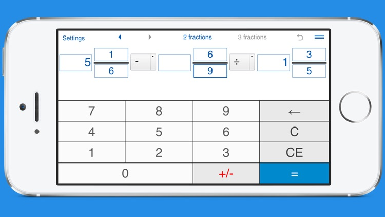 Fraction calculator with steps